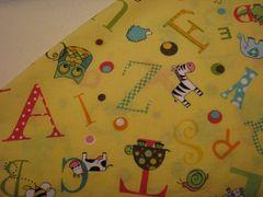 NeNee's Soft Blankies Animal Alphabet in Yellow
