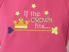 If the Crown Fits! Adjustable Chef's Apron