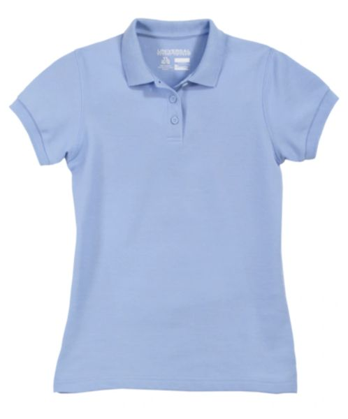 92c4826c1 Girls School Uniform Pique Polo - with or without school logo ...