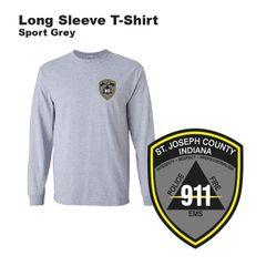 St Joseph County 911 - Long Sleeve T-Shirt