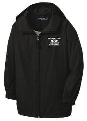 Stingrays Hooded Raglan Jacket