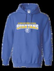(C) SMS Hooded Sweatshirt