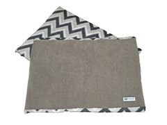 CrateMates LARGE Pet Pad Bed - GRAY