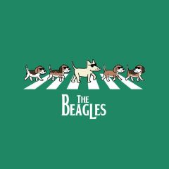 The Beagles (Ladies V-neck L only)