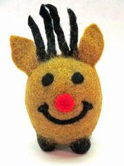 Wool Felt Reindeer
