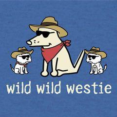 Wild Wild Westie (Lightweight Unisex)