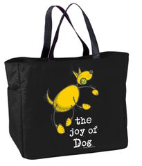 Joy of Dog Tote Bag