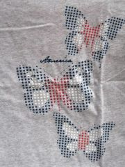 American Butterflies Ladies T-shirt