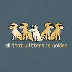 All That Glitters is Golden (Lightweight Unisex)