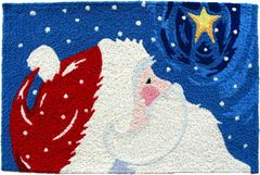 Star Gazing Santa