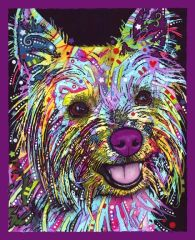Yorkie by Dean Russo - PLAQUE