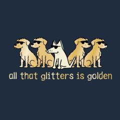 All That Glitters is Golden (Classic Unisex L only)