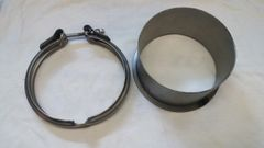 S400 T6 Downpipe Flange and Clamp