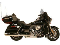 7017HO. HD Touring '09-'16 High Output Performance Header Pipe w/ Chrome Heat Shields
