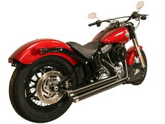 7120SL. Softail '86-'16 Mid Length Ceramic Coated Crossover Performance System