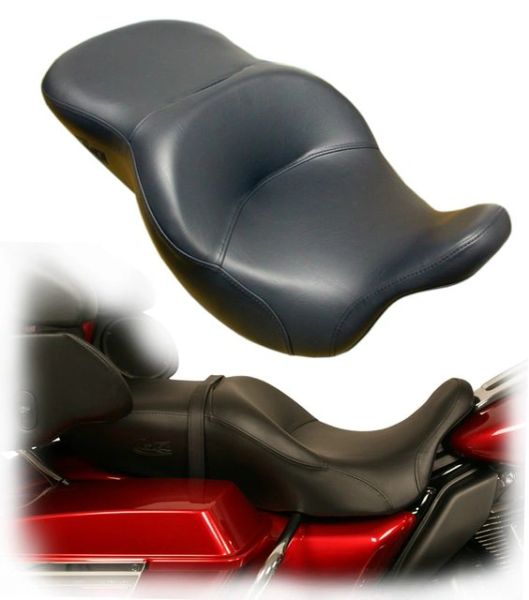 Cycle Pedic Touring Seat ST0110 Cruiser No Channel