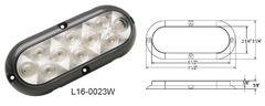 LED Curb Light / Backup Light / Utility Light, 10 LED, L16-0023W