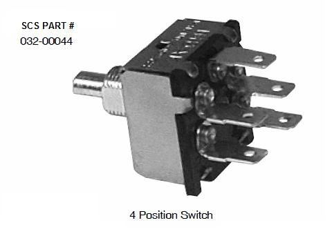 INDAK 4 Position Blower Switch 032-00044 | pdxrvwholesale on rotary 4 pole wiring diagram, pos 6 cable diagram, 4 pole switch diagram, three-way rotary switch diagram, 6 pole switch diagram,