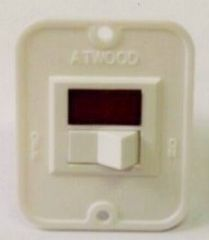 Atwood Water Heater Switch Kit, White, 91859
