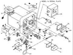 Suburban Water Heater Model SW10DE Tune-Up Kit