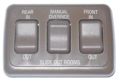 Dual Slide Out Switch Panel With Manual Override Switch AH-ASY-3-2-004