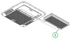 Coleman Chill Grille Return Air Grill 8330-3951