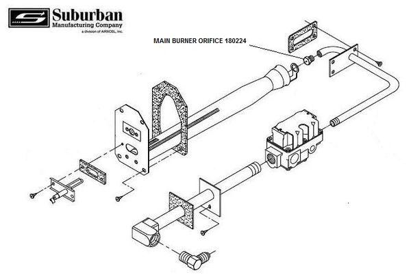 suburban furnace burner orifice 180224
