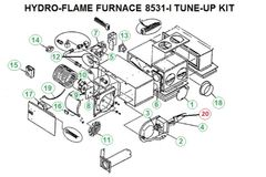 Atwood / HydroFlame Furnace Model 8531-I Tune-Up Kit