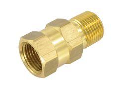 Valterra Check Valve, 1/2″, Brass, MPT x FPT, LF, Bulk, P23402LF