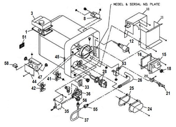 suburban water heater model sw10del parts pdxrvwholesale GE Water Heater Parts Diagram suburban water heater model sw10del tune up kit