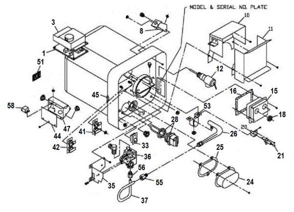 Pleasing Suburban Water Heater Model Sw10Del Parts Pdxrvwholesale Wiring 101 Cominwise Assnl