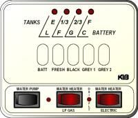 KIB Electronics Monitor Panel Model M25-2-3HWL Repair / Installation Kits