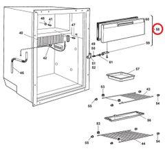 Dometic Freezer Door, 2002239271