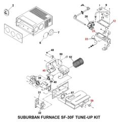 Suburban Furnace Model SF-30F Tune-Up Kit