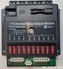 Intellitec 10 Channel Relay Output Module, Latching, 00-00838-000