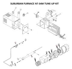 Suburban Furnace Model NT-34M Tune-Up Kit