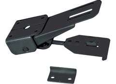 RV Folder Camper / Trailer Black Latch E314