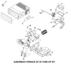 Suburban Furnace Model SF-35 Tune-Up Kit