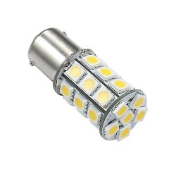 1076 LED Bulb, 27 LED's, 250 Lumens, Warm White, 25005V