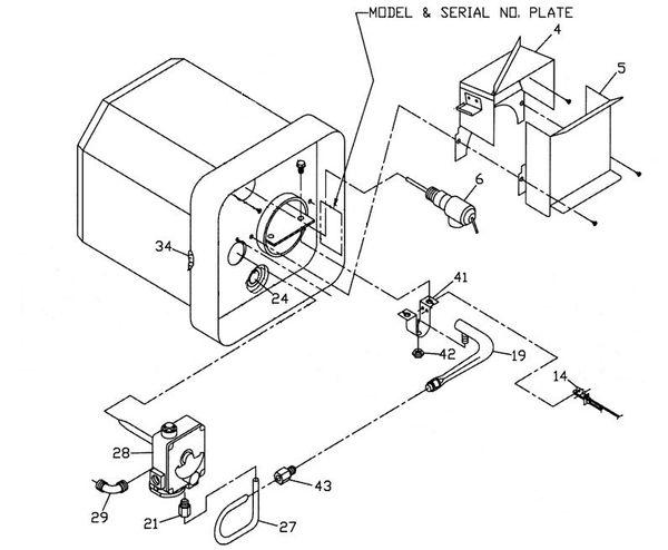 Suburban Water Heater Model Sw6p Parts Pdxrvwholesale