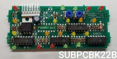 KIB Electronics Replacement Board Assembly, K22 & K24 Series, SUBPCBK22B