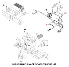 Suburban Furnace Model SF-30Q Tune-Up Kit