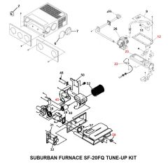Suburban Furnace Model SF-20FQ Tune-Up Kit