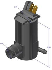 RV Washer Pump, 12 Volt