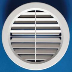 6-7/8 Inch RV Round AC Louvered Vent