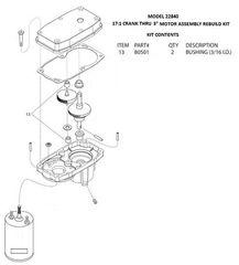 Barker Slide Out Bushings (3/16 ID) 80501