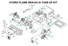 Atwood / HydroFlame Furnace Model 8935-DC-III Tune-Up Kit
