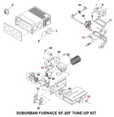 Suburban Furnace Model SF-20F Tune-Up Kit