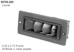 Rectangular Louvered Dash Vent 062-00769