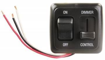 dimmer on off switch with bezel black ah sld 5 hs01 pdxrvwholesale